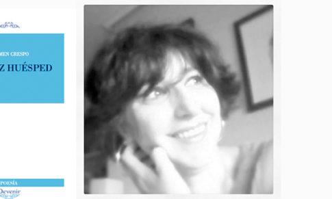 Carmen Crespo ganadora del II Premio BAL Hotel de Poesía