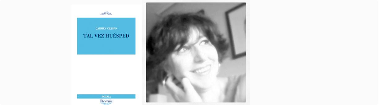 Carmen Crespo ganadora II Premio Poesía