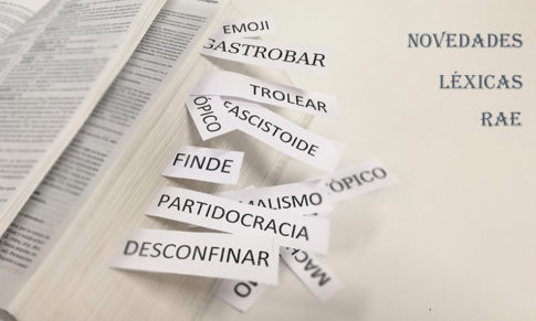 Las palabras nuevas en el diccionario de la RAE