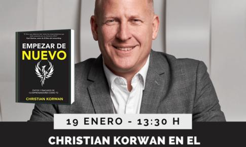Christian Korwan  en el Bibliotren