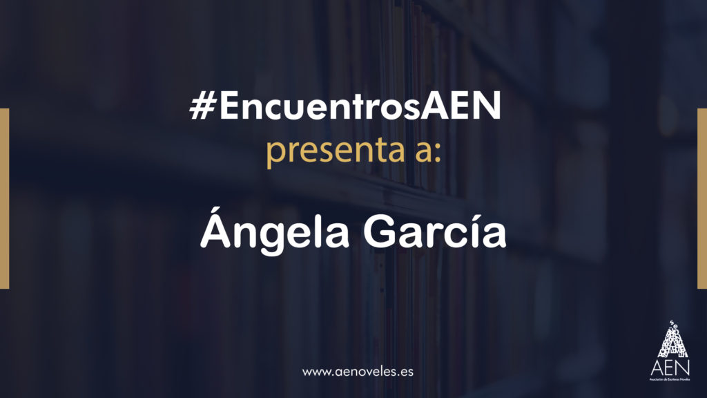 EncuentroAEN con Ángela García