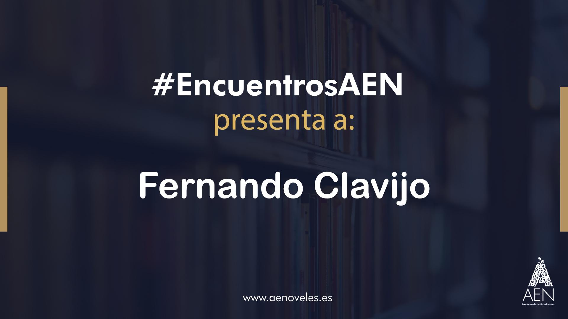 EncuentroAEN con Fernando Clavijo