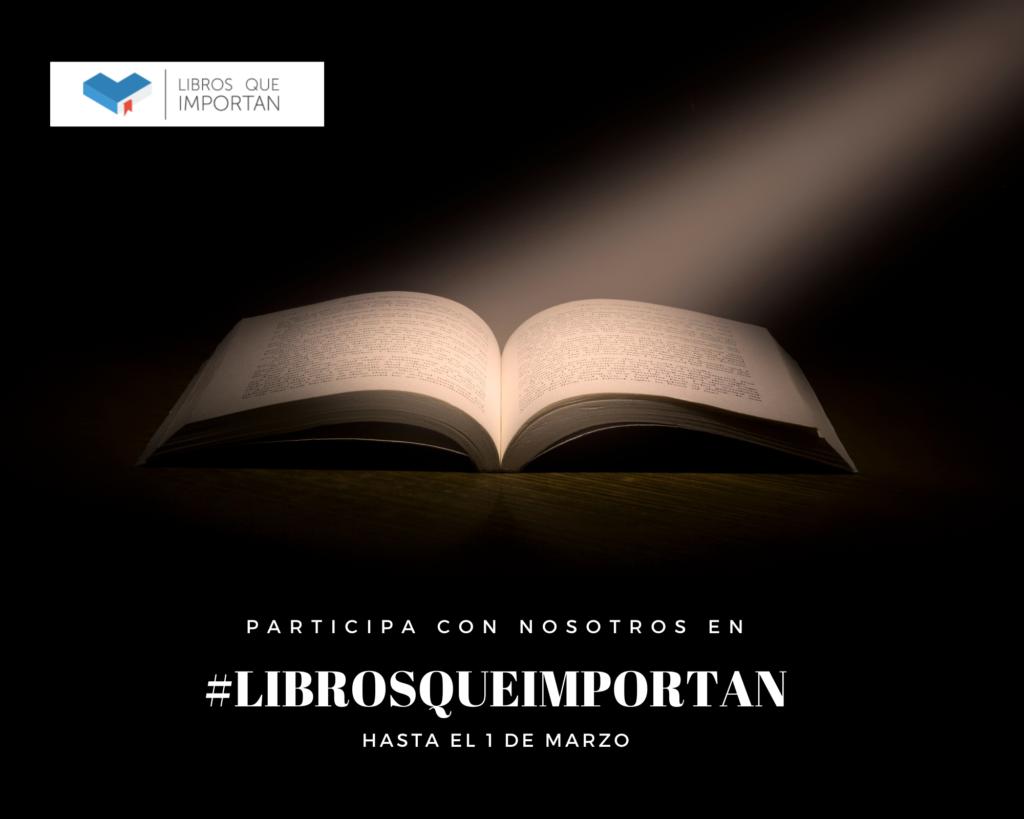 Participa en Libros que Importan
