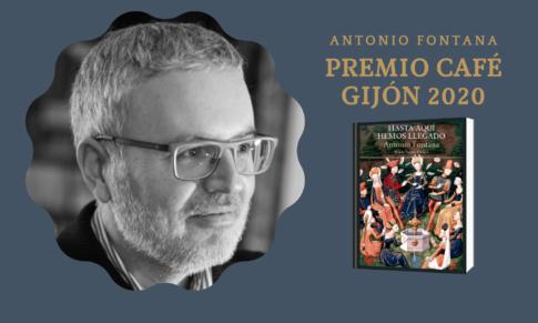Antonio Fontana gana el Premio Café Gijón 2020
