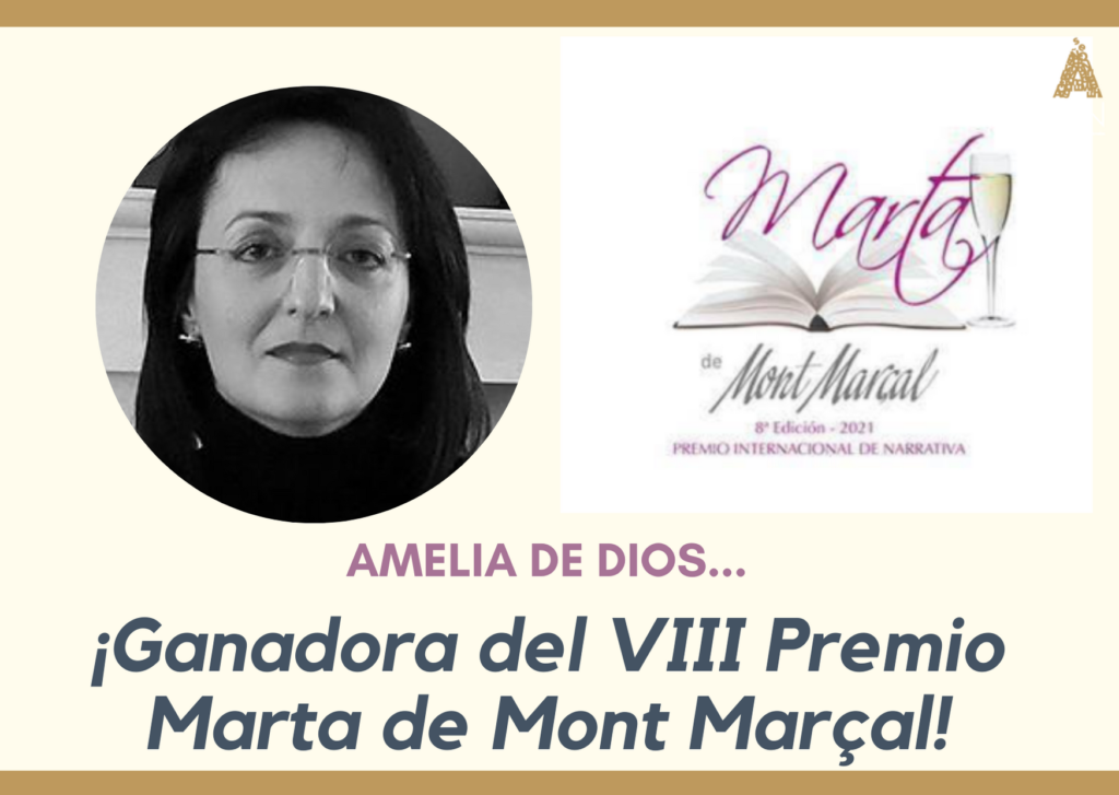 Amelia de Dios ganadora del Premio Marta de Mont Marçal