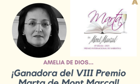 Amelia de Dios ganadora del VIII Premio Marta de Mont Marçal