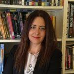 Bárbara Montes en el Bibliotren de RPA
