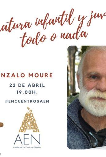 Encuentro con Gonzalo Moure sobre LIJ