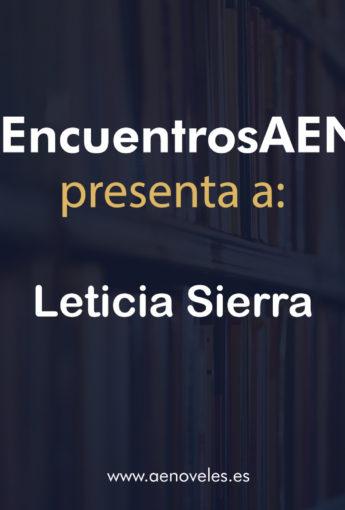 Encuentro criminal con Leticia Sierra