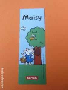 Marcapáginas de Maisy de Serres