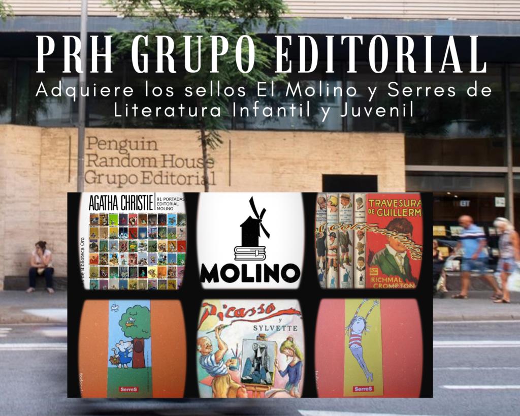 PRHGE adquiere los sellos El Molino y Serres