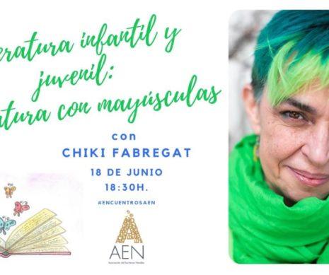 Encuentro con Chiki Fábregat sobre LIJ