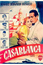 Casablanca-cartel antiguo