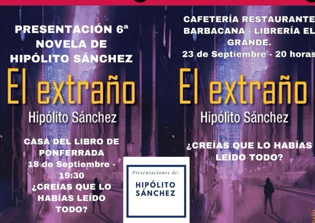 Presentaciones de Hipólito Sánchez