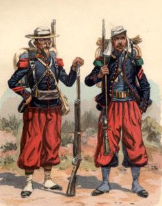 Uniformes Legión Extranjera